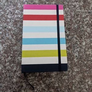 Kate Spade Striped Journal/Notebook NEW!